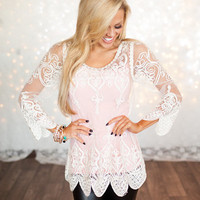 Incredibly Detailed Lace Top