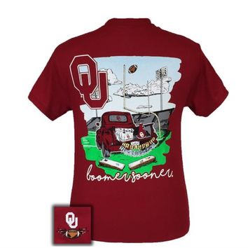 Tailgates and touchdowns OU Tee