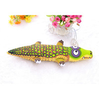 1Pcs Crocodile Pet Toys Dog Chew Canvas Training Toy Resistant Bite Tooth Cleaning Pet Supplies Products Gifts  5FF136