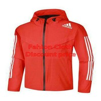Adidas Sweater Red L-4XL 2018 Adidas New Style Clothing Four sides projectile