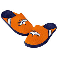 Denver Broncos Official NFL Jersey Slippers