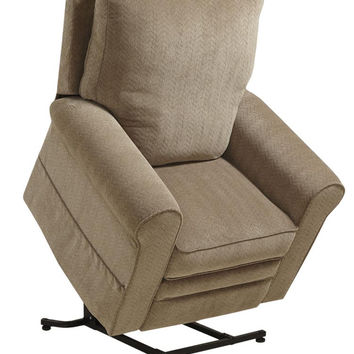 Catnapper Edwards Power Lift Chair Recliner Chenille Fabric 4851