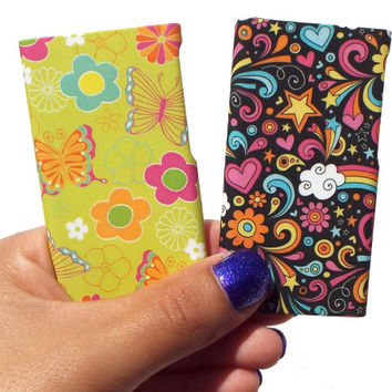 Clique Fashion Case Shell (2 Pack) for iPod nano 7th Generation (Magical universe / Flirt) - Fabulously Stylish Accessories for Girls