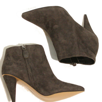 Dolce Vita Suede Point Bootie - Charcoal