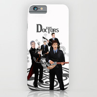 The Doctor who Renunion BAND iPhone 4 4s 5 5c 6 7, pillow case, mugs and tshirt iPhone & iPod Case by Three Second