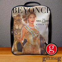 Beyonce Mrs Carter World Tour Backpack for Student