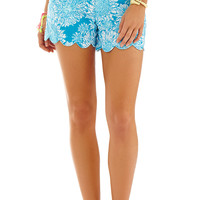 Lilly Pulitzer 5 Inch Buttercup Scallop Hem Short