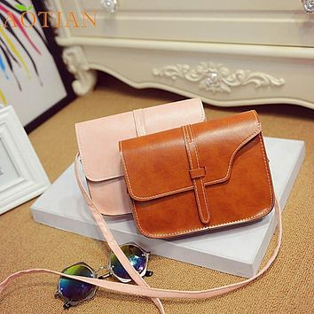 Attractive Women Girl Shoulder Bag Faux Leather Satchel Crossbody Tote Handbag Hot sale NO19