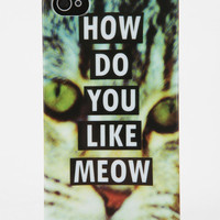 Urban Outfitters - Fun Stuff Meow iPhone 4/4s Case