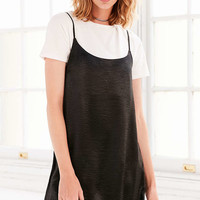 Silence + Noise Satin Shine Mini Slip Dress - Urban Outfitters
