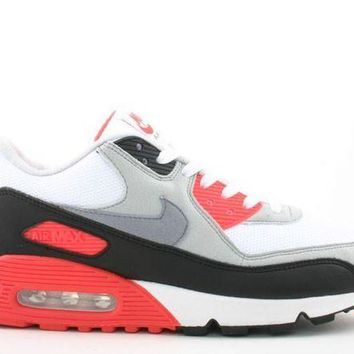 ONETOW Ready Stock Nike Air Max 90 Gray Black Pink Sneakers 2008 Release Shoes Sport Running Shoes