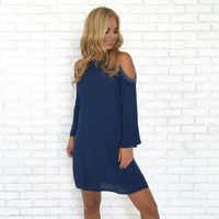 Charm Cold Shoulder Dress