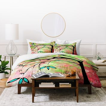 Madart Inc. Lily Duvet Cover