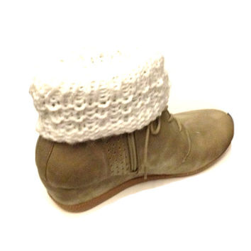 Double Sided Boot Cuffs Knitting Pattern Boot Toppers Stylish Boot Cuffs Boot Covers PDF File