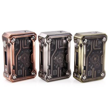 2017 New Original Tesla Punk 220W Box Mod Teslacigs 220 w e-cigarettes mod steampunk style vape for 25mm atomizer vs tesla nano