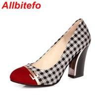 Refined fashion plaid color stitching pretty shoes,women spring/summer  new fashion women high heels