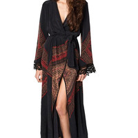Stone Cold Fox Helena robe in violante