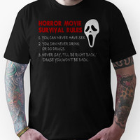 Horror Movie Rules Unisex T-Shirt