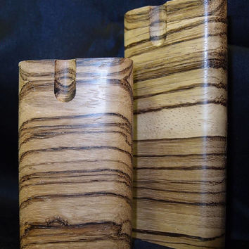 Zebrawood dugout one hitter