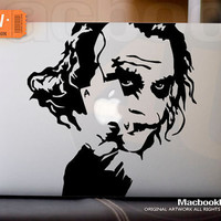 "Joker - LIMITED EDITION macbook decal / sticker ( for 11"" 13"" 15"" 17""  or any Laptop) K013"
