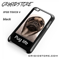 New Design Funny Hilarious Pug Life Parody Fans For Ipod 4 Case Please Make Sure Your Device With Message Case UY