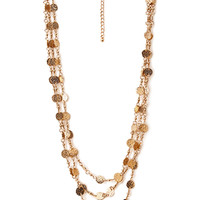 Boho Glam Layered Necklace