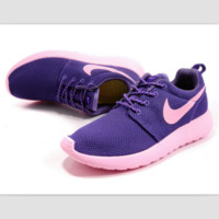 NIKE fashion network sports shoes casual shoes Purple pink