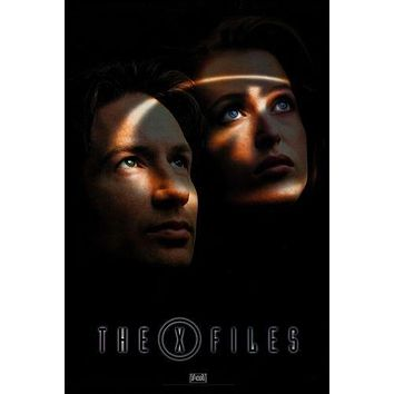X-Files The poster Metal Sign Wall Art 8in x 12in