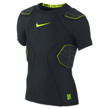 Nike Pro Hyperstrong Compression 4-Pad Boys' Football Shirt