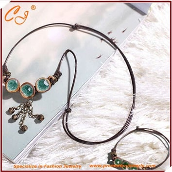DIY Porcelain Cord Necklace and Bracelet Kit Jewelry Gift for Your Girl Friend Best Choice