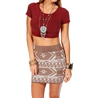 Sale-burgundy Crop