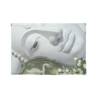 In the Garden - Quan Yin & Flowers Place Mat