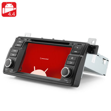 1 DIN Android 4.4 Car DVD Player for BMW E46 - 7 Inch Touch Screen, Dual Core Rockchip Cortex A9 CPU, GPS, 8GB Internal Memory