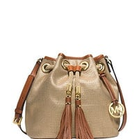 Michael Michael Kors Gathered Marina Medium Messenger