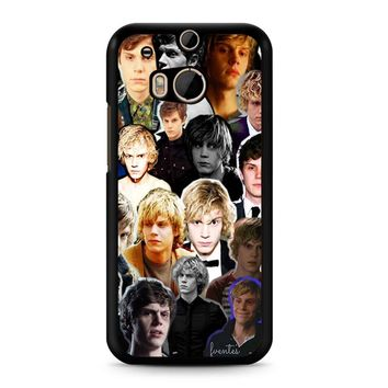 Evan Peters Collage 2 1 HTC M8 Case