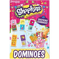 Pressman Toy Shopkins 28 piece Urea Dominoes - Walmart.com