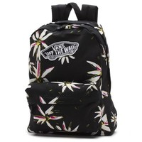Vans Realm Floral Backpack (Black/White)