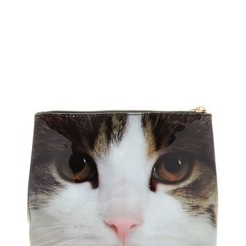 Cat Graphic Makeup Bag