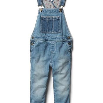 1969 jersey-lined overalls | Gap