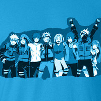 Naruto Movie Road to Ninja Menma Team 7 T-Shirt Tee