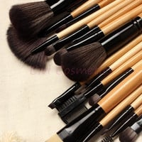 HOT! 18 pcs Makeup Brushes Set Professional Makeup Brushes & Tools, With Drawstring Bag = 1753499780