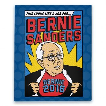 Super Hero Bernie Sanders 2016