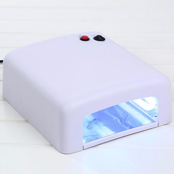 Nail Art Dryer Gel Curing UV Lamp 36W 4X 9W Light Tube EU Plug Nail Art Tool Nail Gel Polish Uv Led lamp