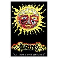 Sublime Blacklight Poster