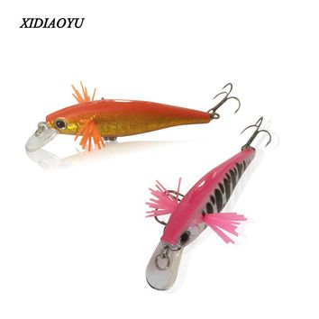 High quality Mini minnow suspending fishing lures,5 color for choose, 65mm 5.5g fishing bait Hard fishing lure