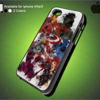 The Avengers Marvel Super Hero on iPhone Case, iPhone 5 Case, iPhone 4 4s Case, Unique iPhone Case, Hard Case Cover