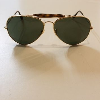 Brand new Rayban Outdoorsman II Gold 62mm