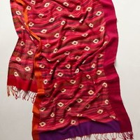 Bazaar Scarf by Anthropologie Pink One Size Scarves