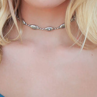 Brighton Antique Silver Choker