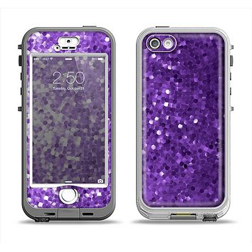 The Purple Shaded Sequence Apple iPhone 5-5s LifeProof Nuud Case Skin Set